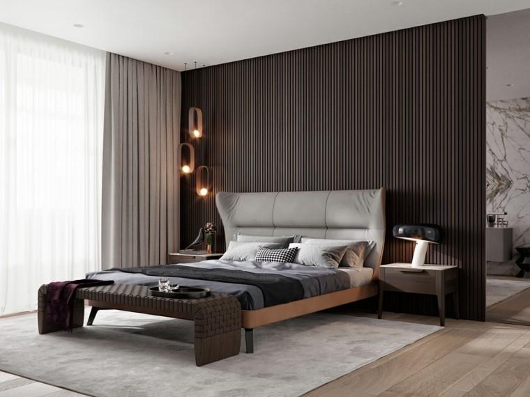 Dormitorios matrimonio modernos 70 ideas sensacionales - Dormitorios originales ...