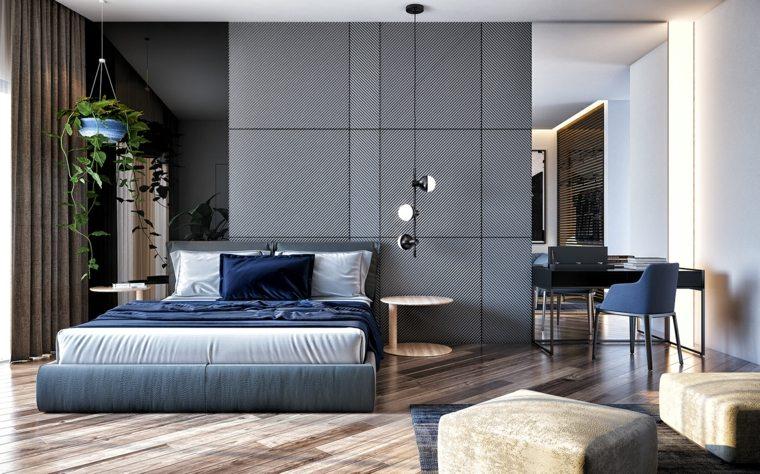 dormitorios-matrimoniо-modernos-estilo-color-azul