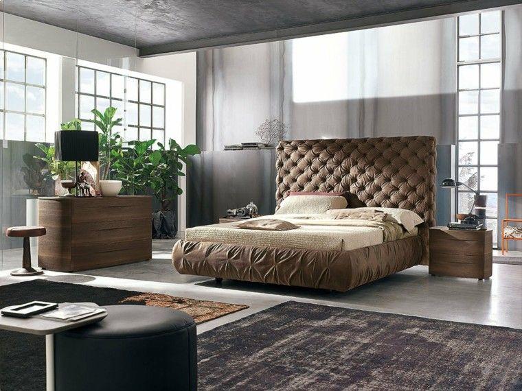 Dormitorios matrimonio modernos 50 ideas sensacionales - Dormitorios madera modernos ...