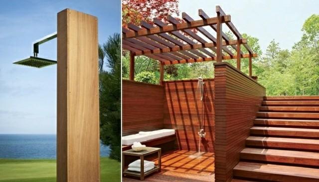 Cabinas De Ducha De Obra:Platos de ducha de obra para el jardín – 63 imágenes