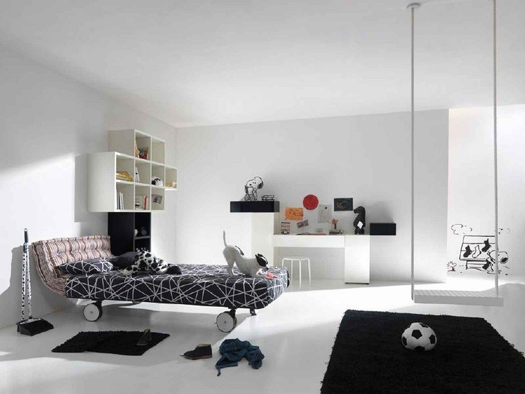Ultra Modern Bedroom Fir Kids Decobizz Modern Kids Bedroom Modern Kids Bedroom - EEdesigners