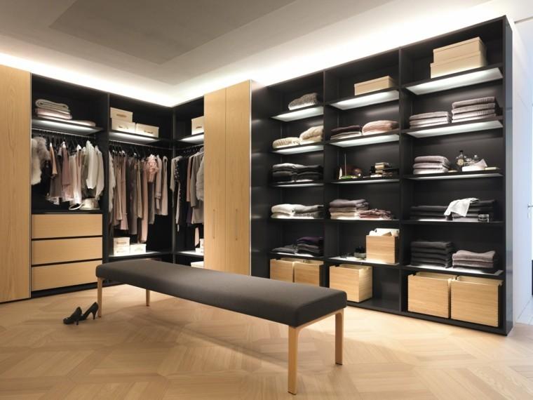 Vestidor dise os en 50 ideas que renovar n tu espacio Diseno de interiores closets modernos