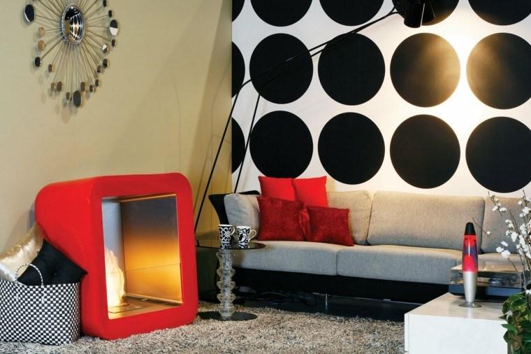 elementos decorativos colores estilo moderno