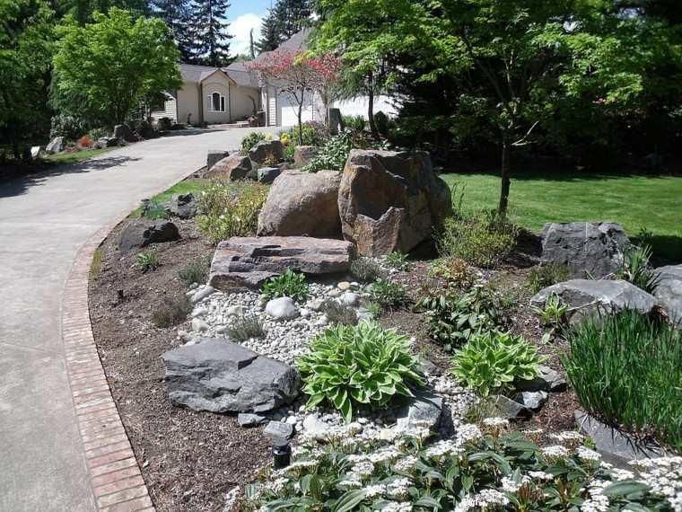 entrada principal casa america rocas