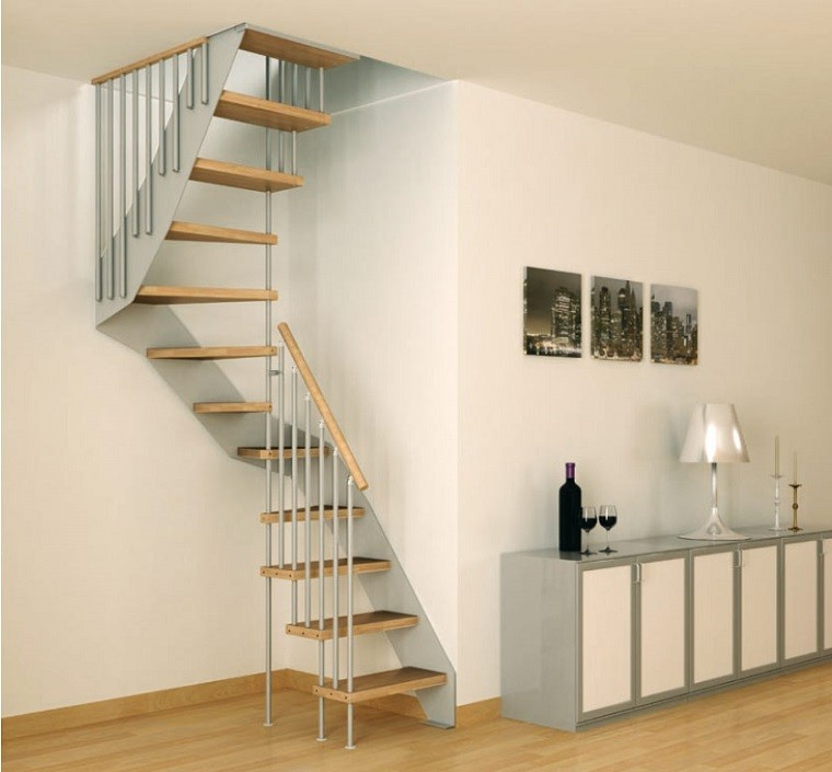 Decorar escaleras con estilo 50 ideas for Huecos de escaleras modernos