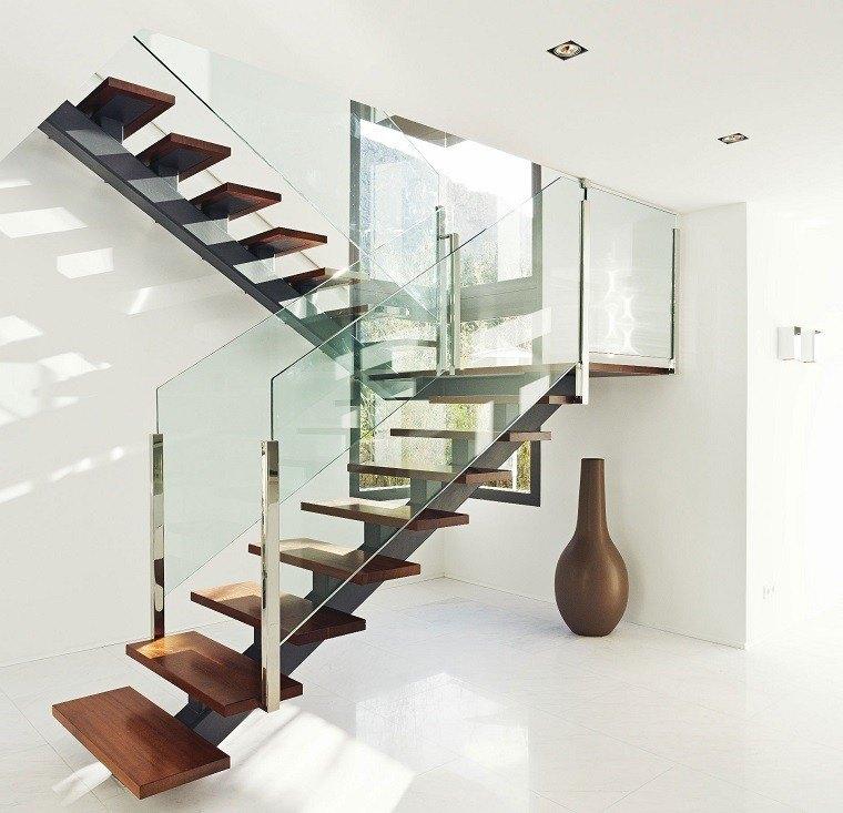 Decorar escaleras con estilo 50 ideas - Tipos de escaleras para casas ...