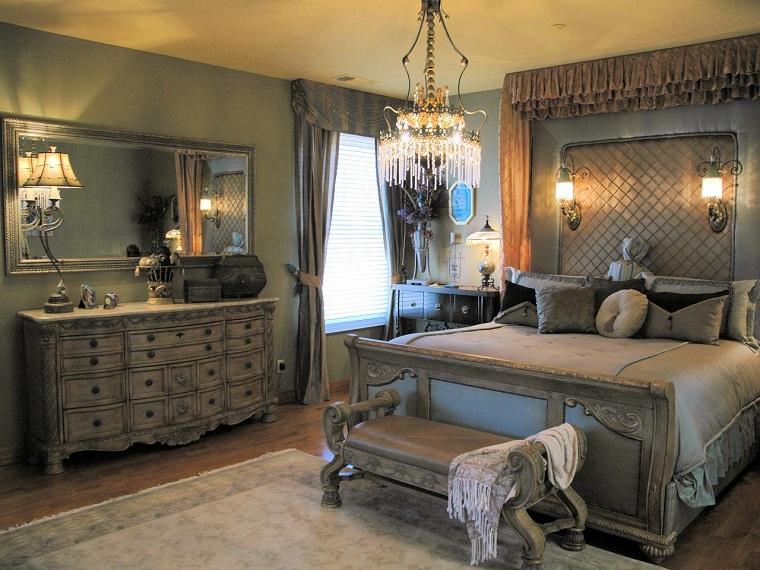 escapada romántica armario precioso madera gris ideas