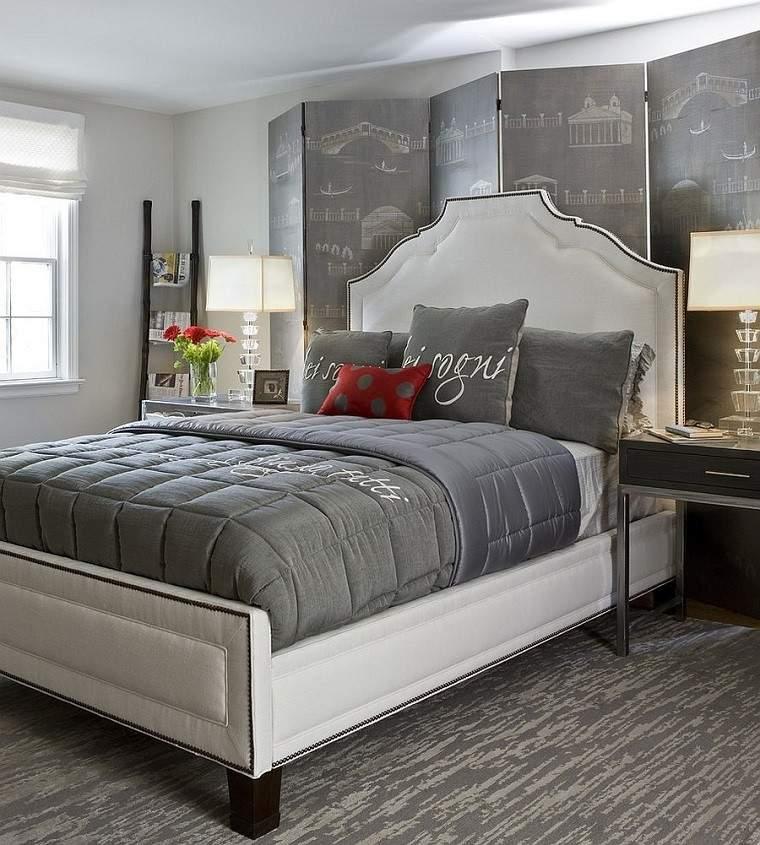 escapada romntica dormitorio cama blanca ideas