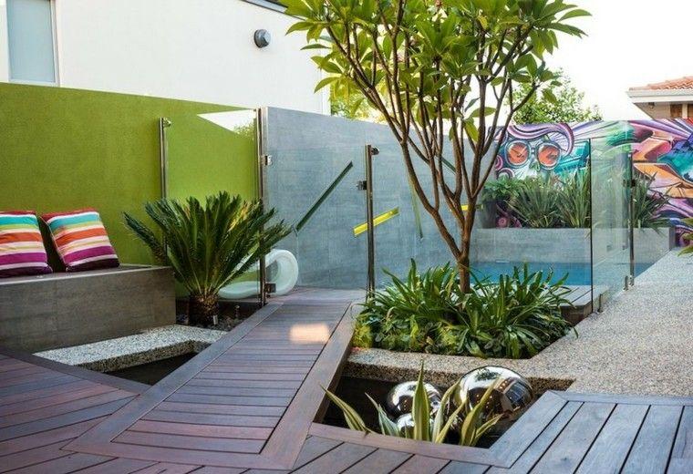 Espacio para jardines peque os 75 dise os impresionantes for Jardines para espacios pequenos