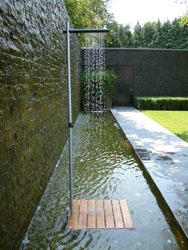 estanque moderno plato ducha cortina