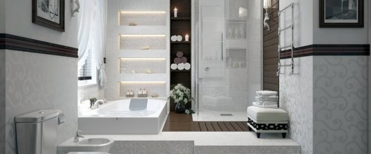 estantes toallas led accesorios cuadros
