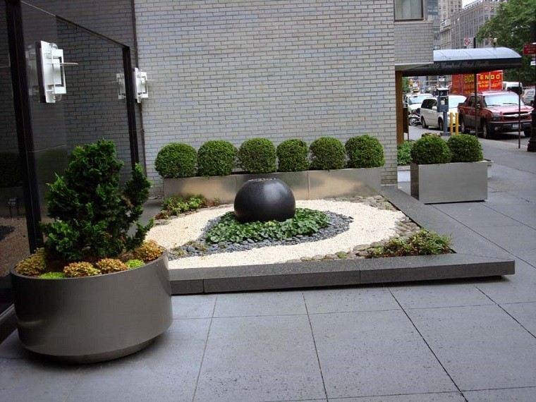 Jardines zen 25 ideas de paisajismo de estilo oriental - Arena jardin zen ...