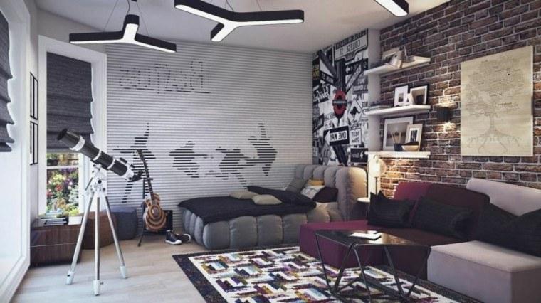 estupendo diseño habitacion adolescente