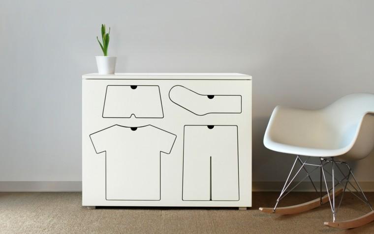 estupendo diseño vestidor moderno ropa