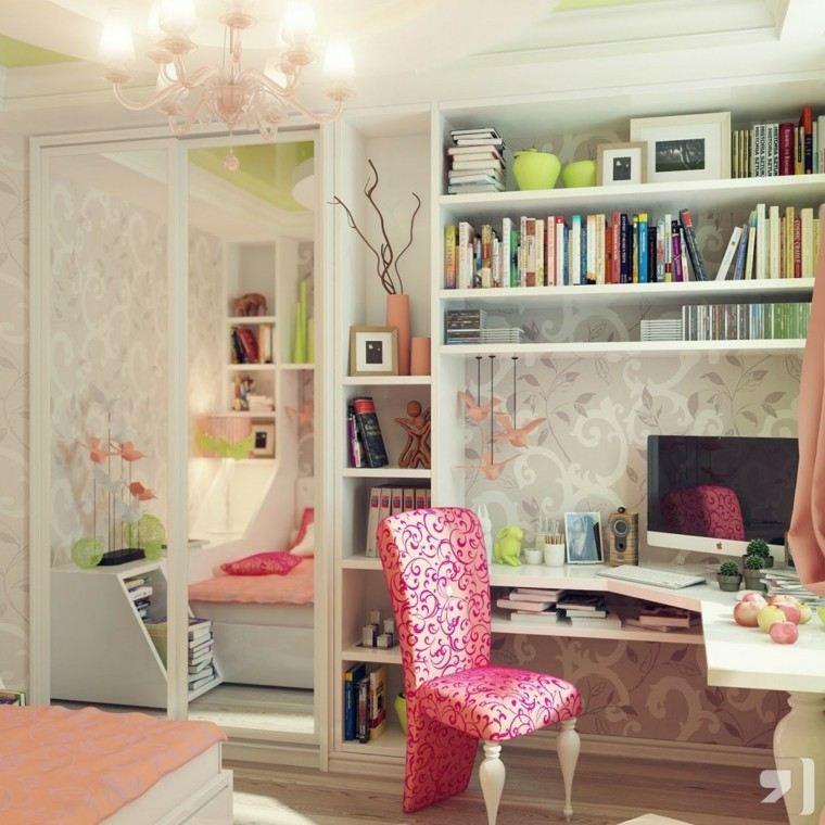 estupenda decoracion habitacion juvenil femenina