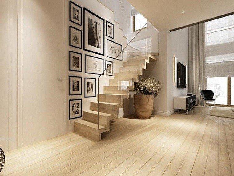 diseño escaleras baranda vidrio