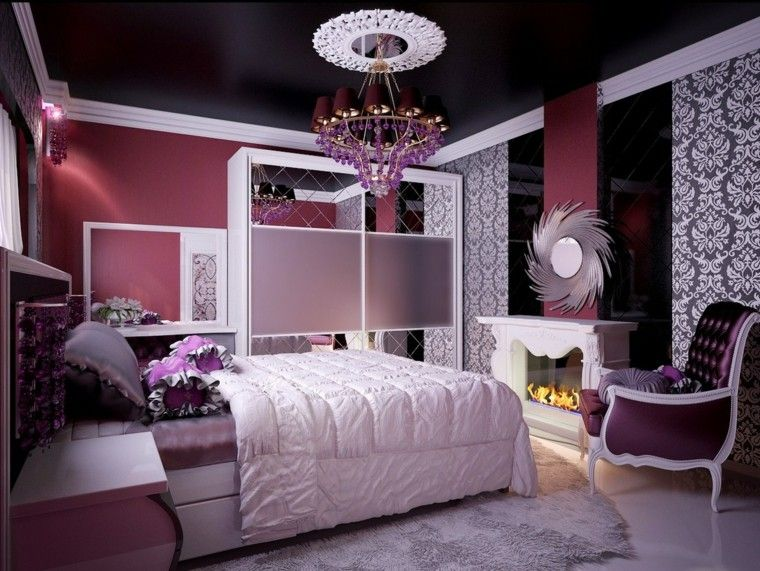 estupendo diseño dormitorio chica joven