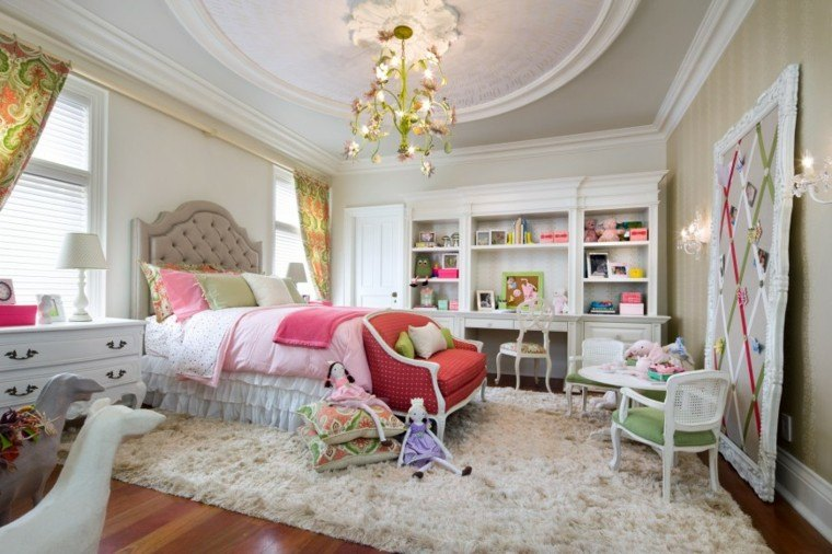 Habitacion juvenil chica dise os llenos de color - Disenos de cuartos juveniles ...