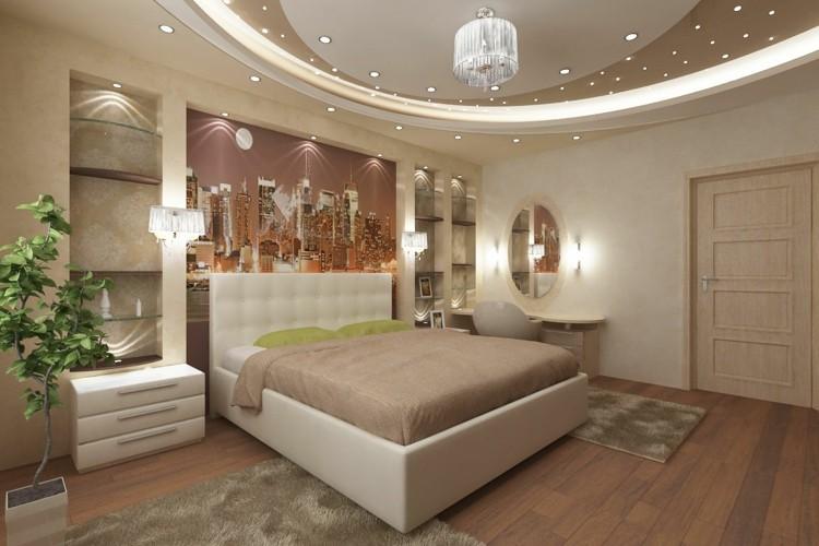 estupendo diseño luces incrustadas techo