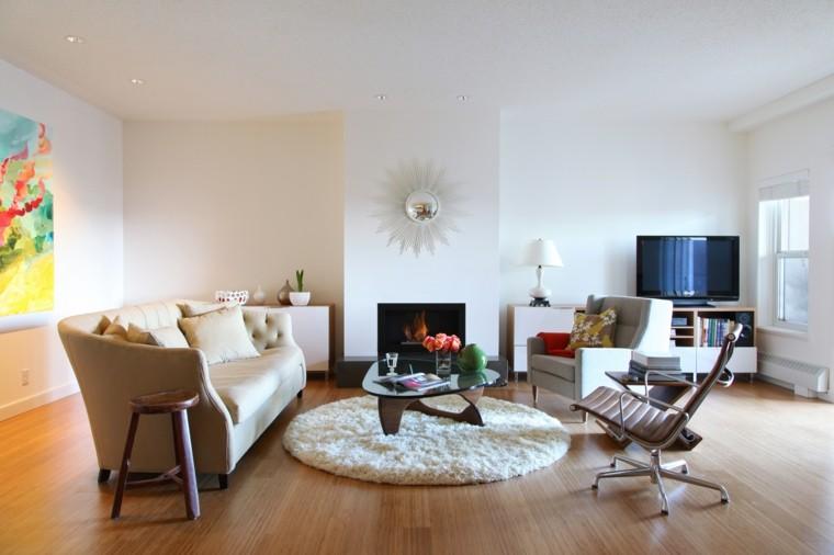 Sala de estar moderna de estilo minimalista 100 ideas for Modelos de salas modernas