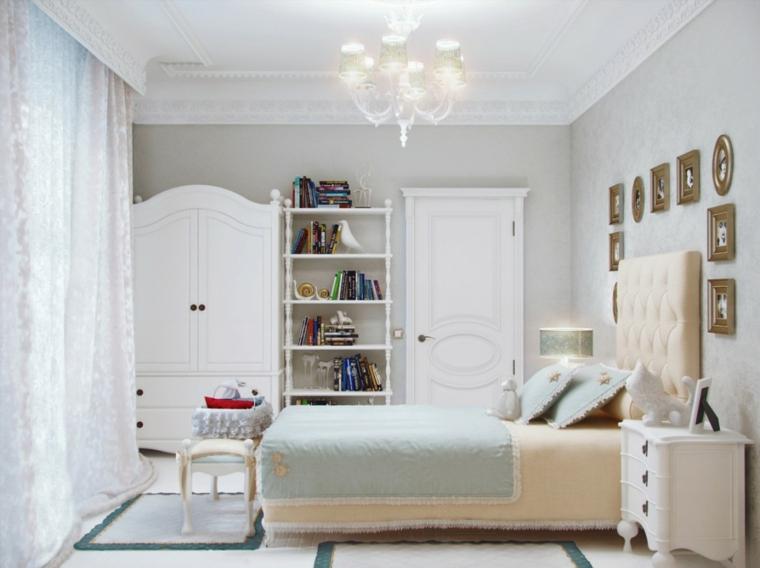 estupendo diseño dormitorio colores claros