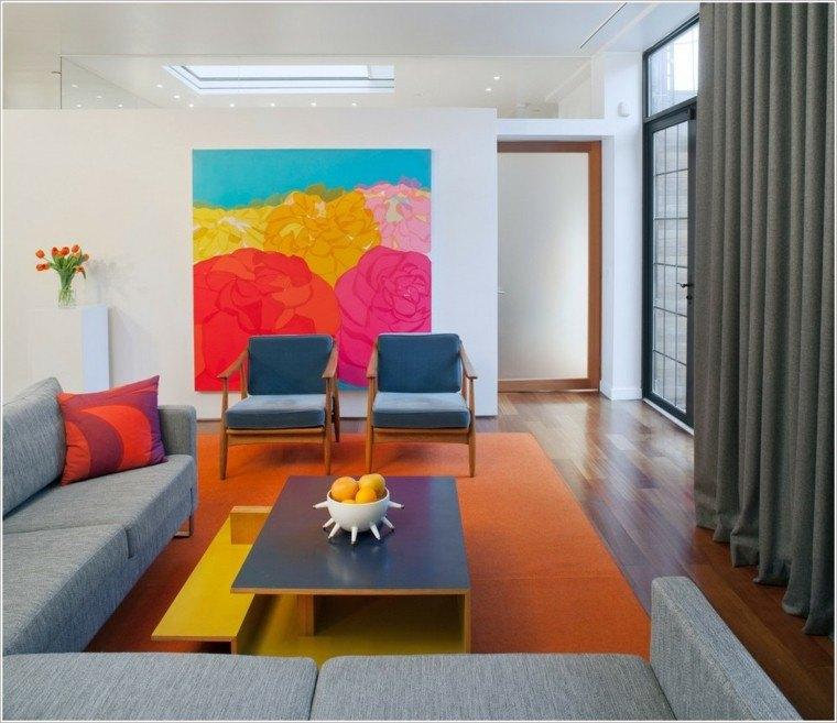 estupendo diseño salon estilo moderno