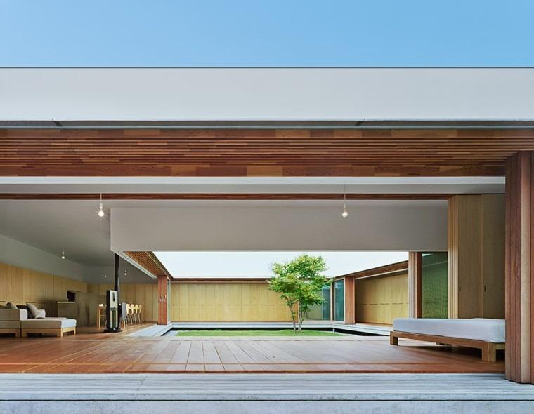 fabuloso diseño jardin interior arbol
