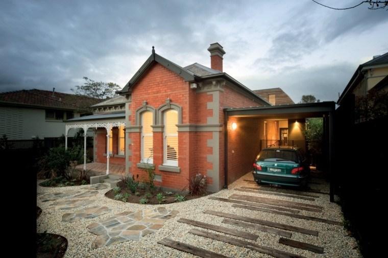 Fachadas de casas rusticas   cincuenta diseños con encanto