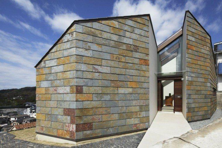 fachadas de casas rusticas estilo moderno - Fachadas Rusticas