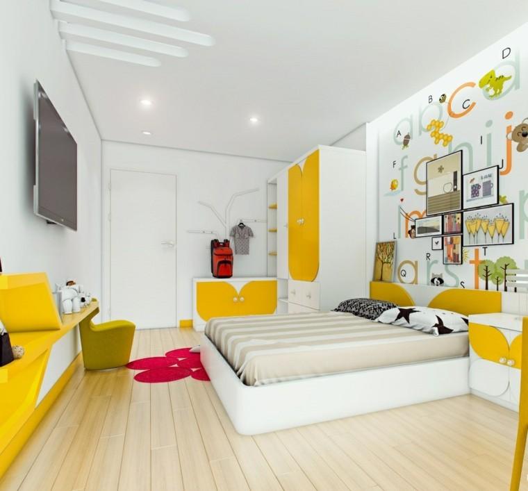 Fotos habitaciones juveniles para chicos y chicas modernos - Imagenes dormitorios infantiles ...