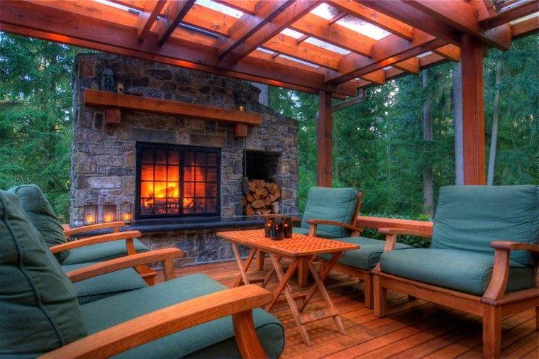 Chimenas dise o para exterior creando un patio diferente - Chimeneas de exterior ...