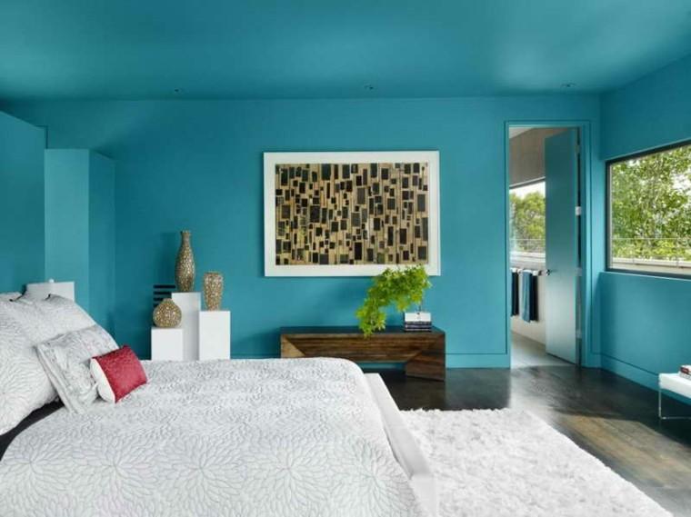 gama de colores sabanas almohadas techo