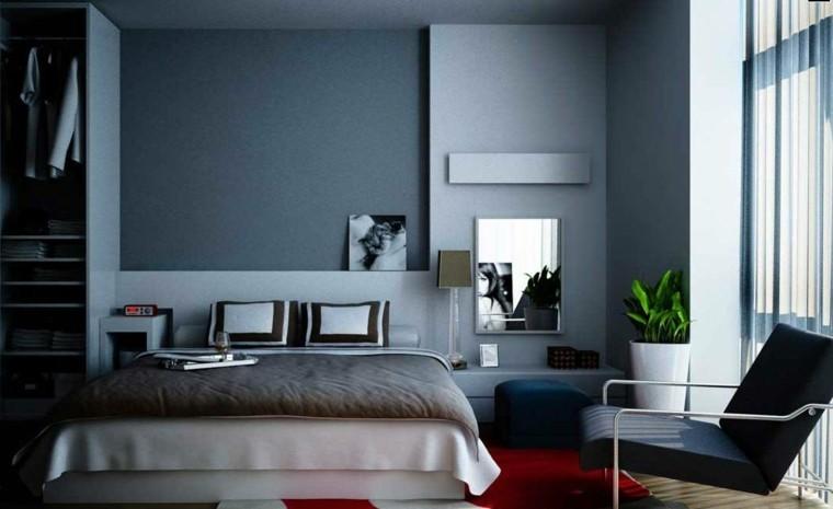 Carta de color 50 tentadoras habitaciones en gris - Habitaciones color gris ...