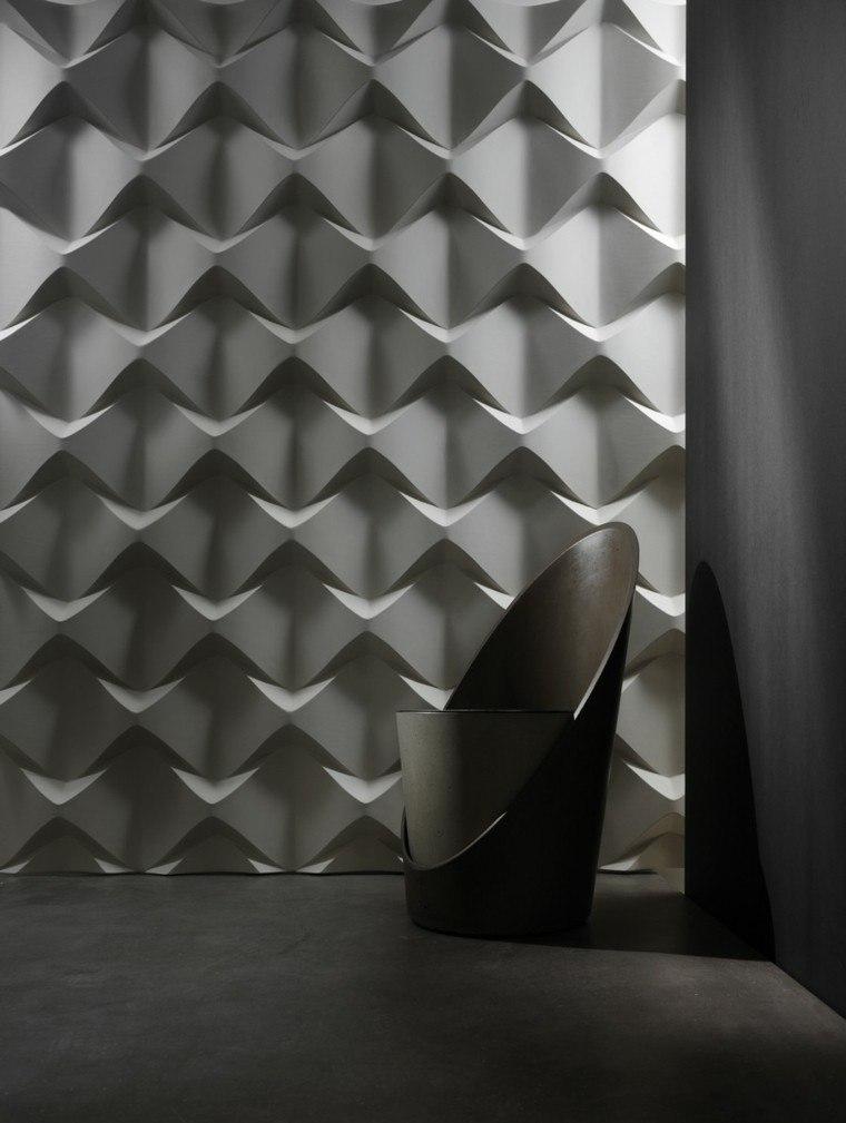 gris moderno tapiz papel silla