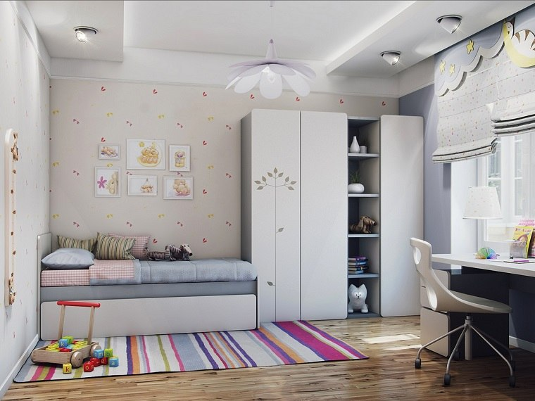 Habitaci n juvenil ni a e ideas para decorar - Ideas habitacion juvenil ...