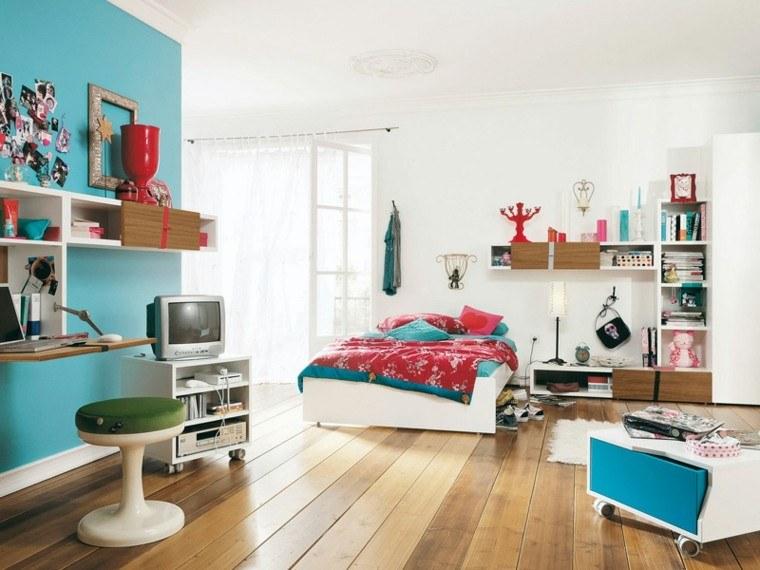 habitacion juvenil interesante colorida