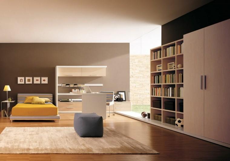 habitacion juvenil interesante alfombra