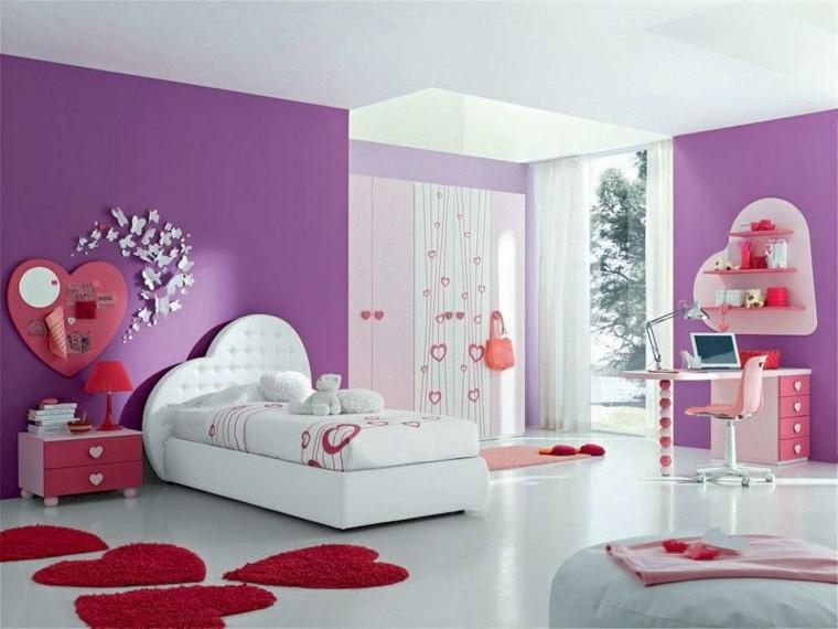 habitacin juvenil nia colores femeninos juguetes ideas