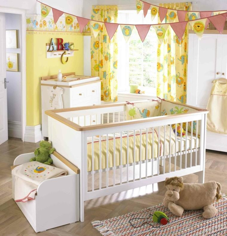 habitaciones para bebes juguete cadenetas