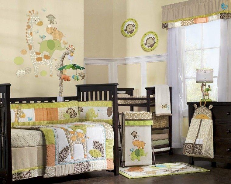 Habitaciones para bebes 25 dise os de inter s for Ideas decoracion habitaciones bebes