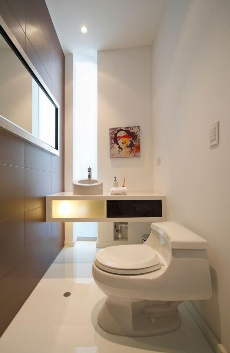 Lavamanos Baño Pequeno:ideas decoracion baño cuadro lavamanos mujer