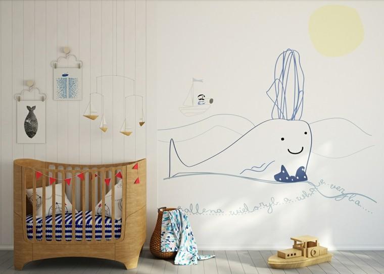 Ideas para habitaciones de beb muy modernas - Ideas para decorar el cuarto del bebe ...