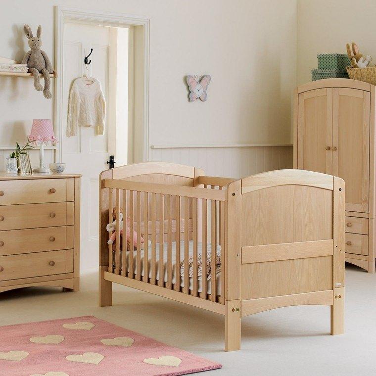 ropa de cama y cortinas a juego en la habitacin del beb ud muebles en madera para bebes en bogota