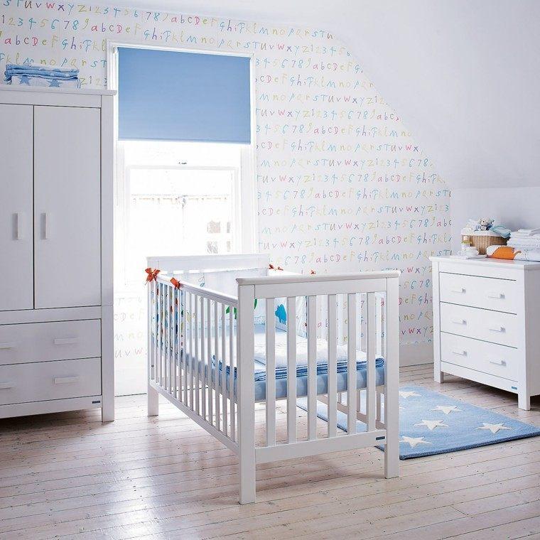 Ideas para habitaciones de beb muy modernas - Letras habitacion bebe ...