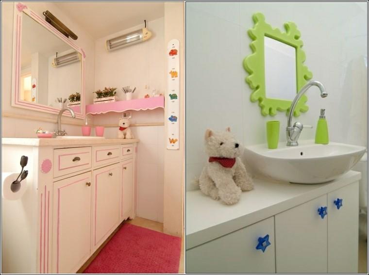 infantil estilo blanco rosa niños