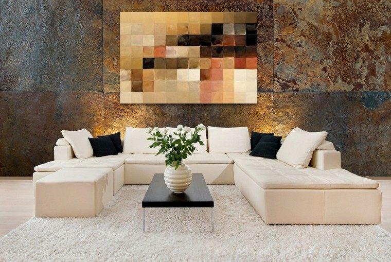 Decorar paredes con estilo cincuenta ejemplos for Decoracion de paredes modernas