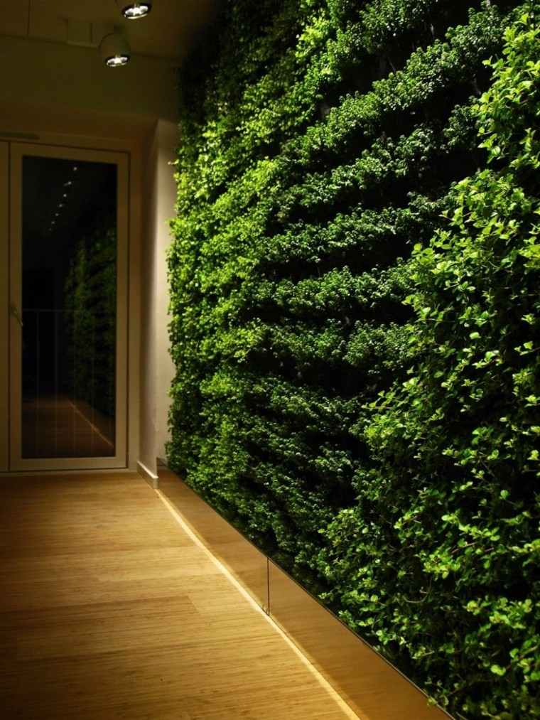 interior luces madera suelo natural