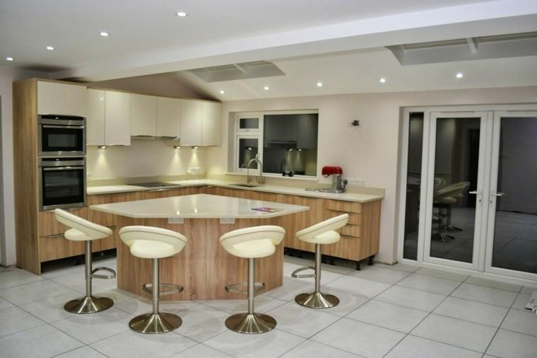 interior taburetes casa led atractiva