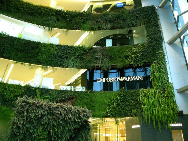 interiores armani tienda edificio marcas