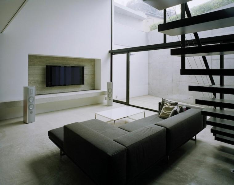 Interiores de casas modernas 25 estupendas ideas - Casa minimalista interior ...